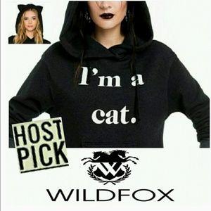 "❤*Wildfox ""I'm a Cat"" Hoodie!*❤"